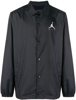 Nike logo print shirt jacket