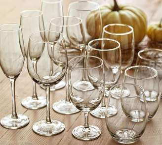 Pottery Barn Caterers Box Wine Glasses, Set of 12