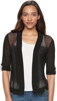 Women's Apt. 9® Mesh Cardigan $36 thestylecure.com
