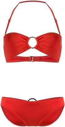 MICHAEL Michael Kors two piece halterneck bikini