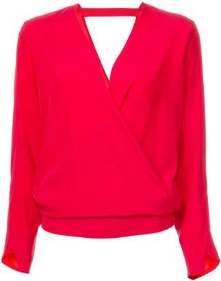 Zero Maria Cornejo ruchéd detail blouse