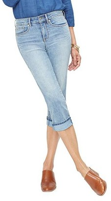 NYDJ Missy Marilyn Cool Embrace Crop Jeans with Cuff