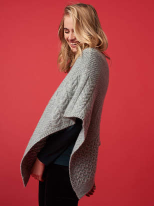 White Stuff Tilly Cable Poncho
