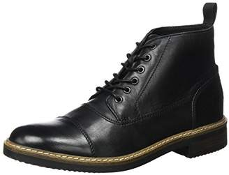 Clarks Men's Blackford Cap Classic Boots, Black (Black Leather-)