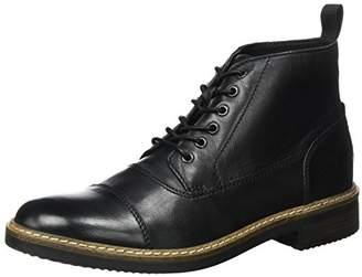 Clarks Mens 261272367 Ankle Boots Black Size: