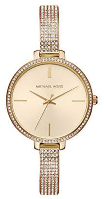 Michael Kors Women's Analogue Quartz Watch with Stainless Steel Strap MK3784