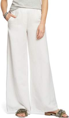 Nic+Zoe Refreshed Wide Leg Linen Blend Pants