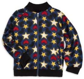 Stella McCartney Girl's Tapestry Bomber Jacket