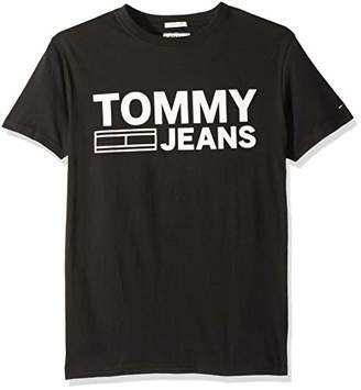 Tommy Hilfiger Tommy Jeans Men's T Shirt Short Sleeve Logo Tee