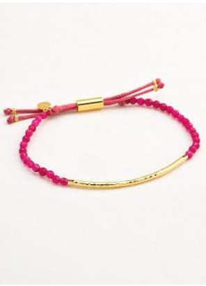Gorjana Pink Jade Bracelet