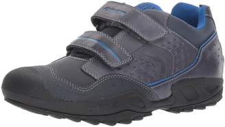 Geox Boy's J N.Savage B.A Shoes, Navy/Royal