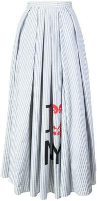 Rosie Assoulin striped flared midi skirt
