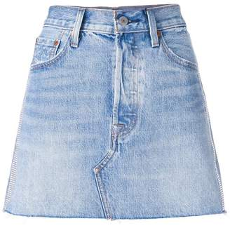 Levi's mini denim skirt