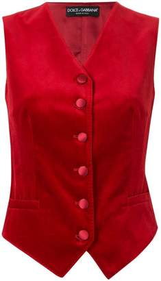 Dolce & Gabbana fitted waistcoat