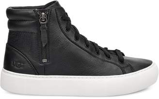 UGG Women's Cakewalk Ollli Leather High-Top Sneakers