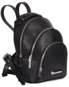 KENDALL + KYLIE Textured Mini Layered Backpack