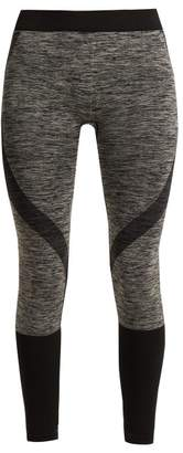 Pepper & Mayne - Lara Compression Performance Leggings - Womens - Black Grey