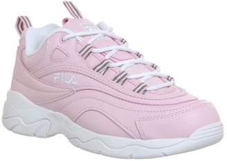 Fila Ray Trainers Chalk Pink White Chalk Pink