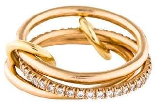 Spinelli Kilcollin 18K Diamond Sonny Gold Ring