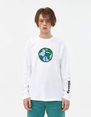Stussy L/S World Peace T-Shirt
