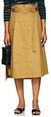 BEIGE LES COYOTES DE PARIS Women's Roseline Belted Midi-Skirt - Beige, Tan
