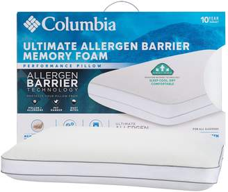 Columbia Ultimate Allergen Barrier Memory Foam Pillow