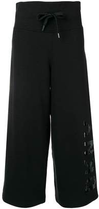 DKNY cropped track pants