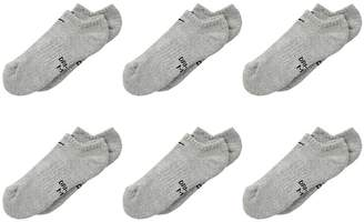 Nike Performance Cushioned No Show Training Socks 6-Pair Pack Kids Shoes