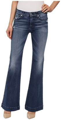 7 For All Mankind Tailorless Dojo in Lake Blue Women's Jeans