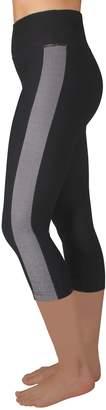 Spalding Women's Stripe High-Waisted Capri Leggings