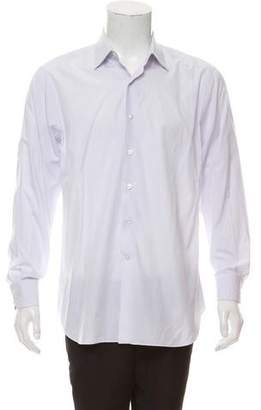 Lanvin Striped Dress Shirt