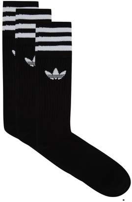 adidas Crew Socks (Pack of 3)