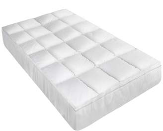 Giselle Bedding Bevelyn Goose Feather & Down Mattress Topper, Double
