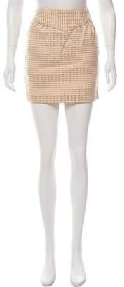 Marc by Marc Jacobs Denim Printed Skirt
