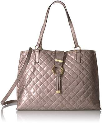 Calvin Klein Quilted Distressed Novelty Tote