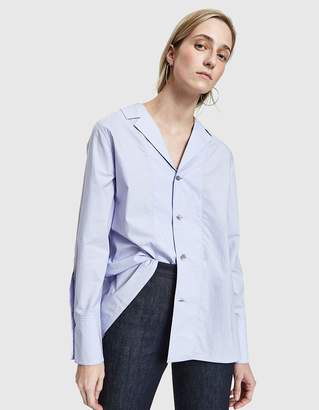 Marni L/S With Collar Neck Shirt in Wistaria