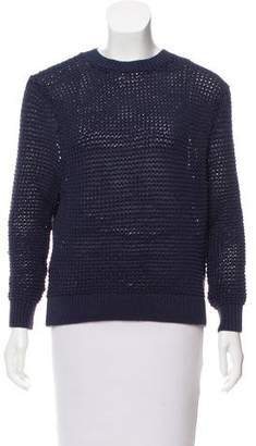 Steven Alan Rib Knit Crew Neck Sweater