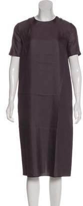 Hache Short Sleeve Midi Dress w/ Tags