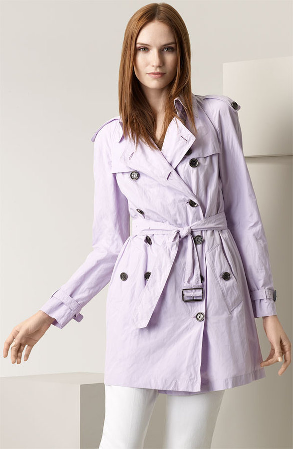 Burberry Crinkled All Weather Trench