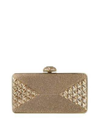 Judith Leiber Couture Diamond Crystal Box Clutch Bag, Champagne $3,995 thestylecure.com