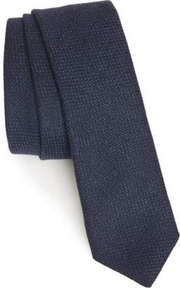 Eleventy Solid Wool Tie