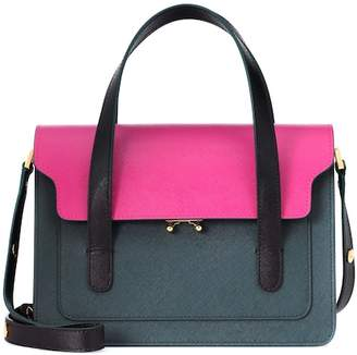 Marni Trunk Leather Tote