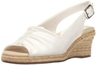 Easy Street Shoes Women's Kindly Espadrille Wedge Sandal