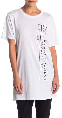 THE PHLUID PROJECT Address Graphic Tunic Tee
