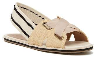Bettye Ali Slingback Lace-Up Sandal