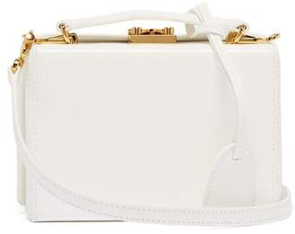 Mark Cross Grace Mini Box Brush Off Shoulder Bag