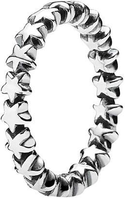 Pandora Star Silver Stacking Ring