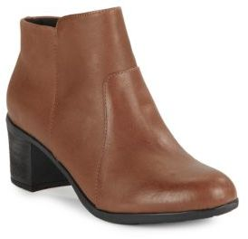 Easy Spirit Billian Leather Ankle Boots $110 thestylecure.com