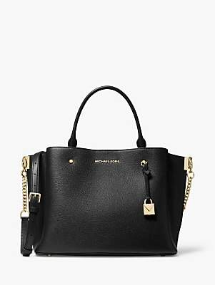 Michael Kors MICHAEL Arielle Large Leather Satchel Bag