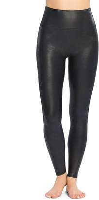 Spanx Ready-to-Wow Faux Leather Leggings, XL